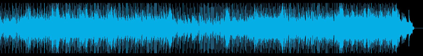 ゴージャスなピアノと癒しのリズムが印象的の再生済みの波形