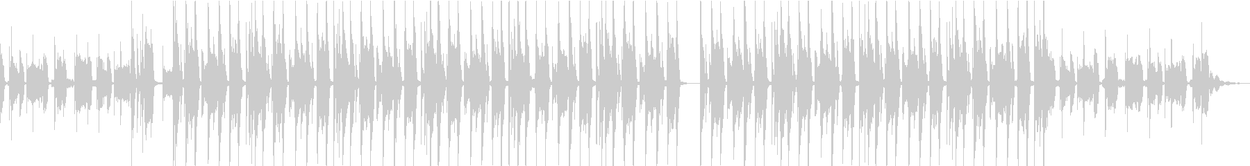 CMで使えるおしゃれBGMの未再生の波形