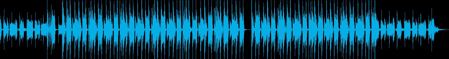 CMで使えるおしゃれBGMの再生済みの波形