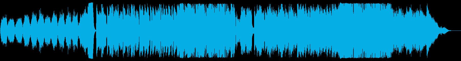 夏山をイメージしたインストの再生済みの波形