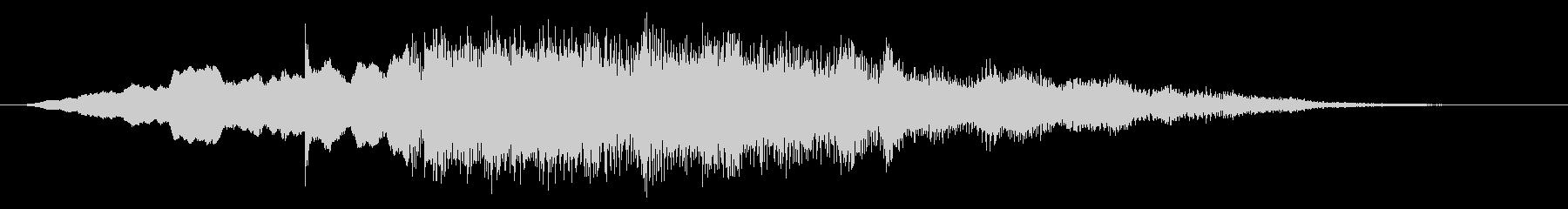 東部移行またはロゴの未再生の波形