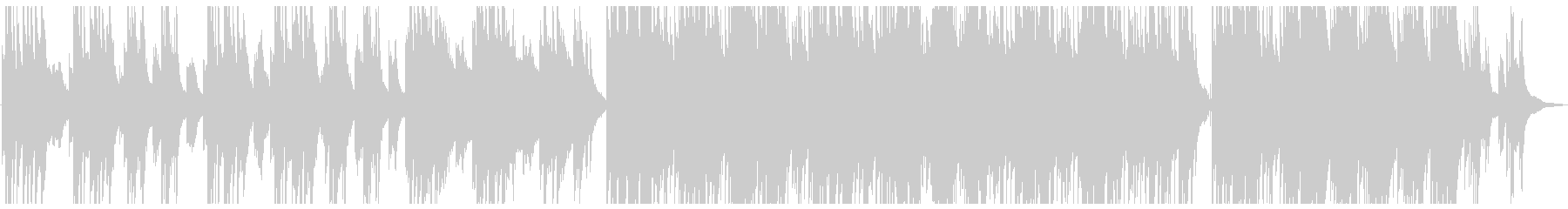 ピアノとアコギが印象的なしっとりBGMの未再生の波形