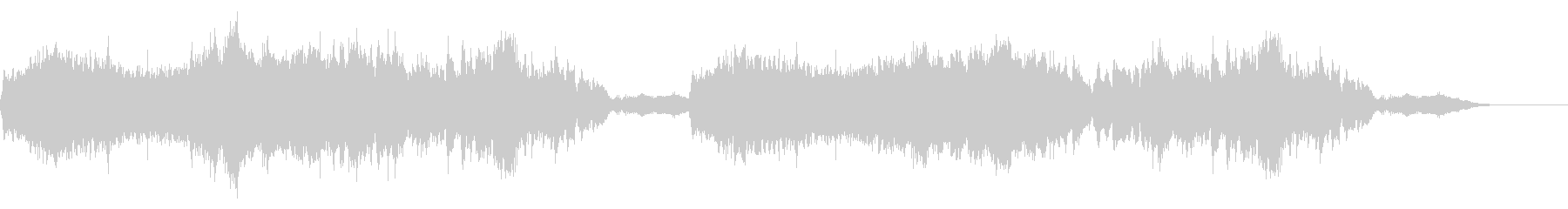 異世界税務署の音楽の未再生の波形