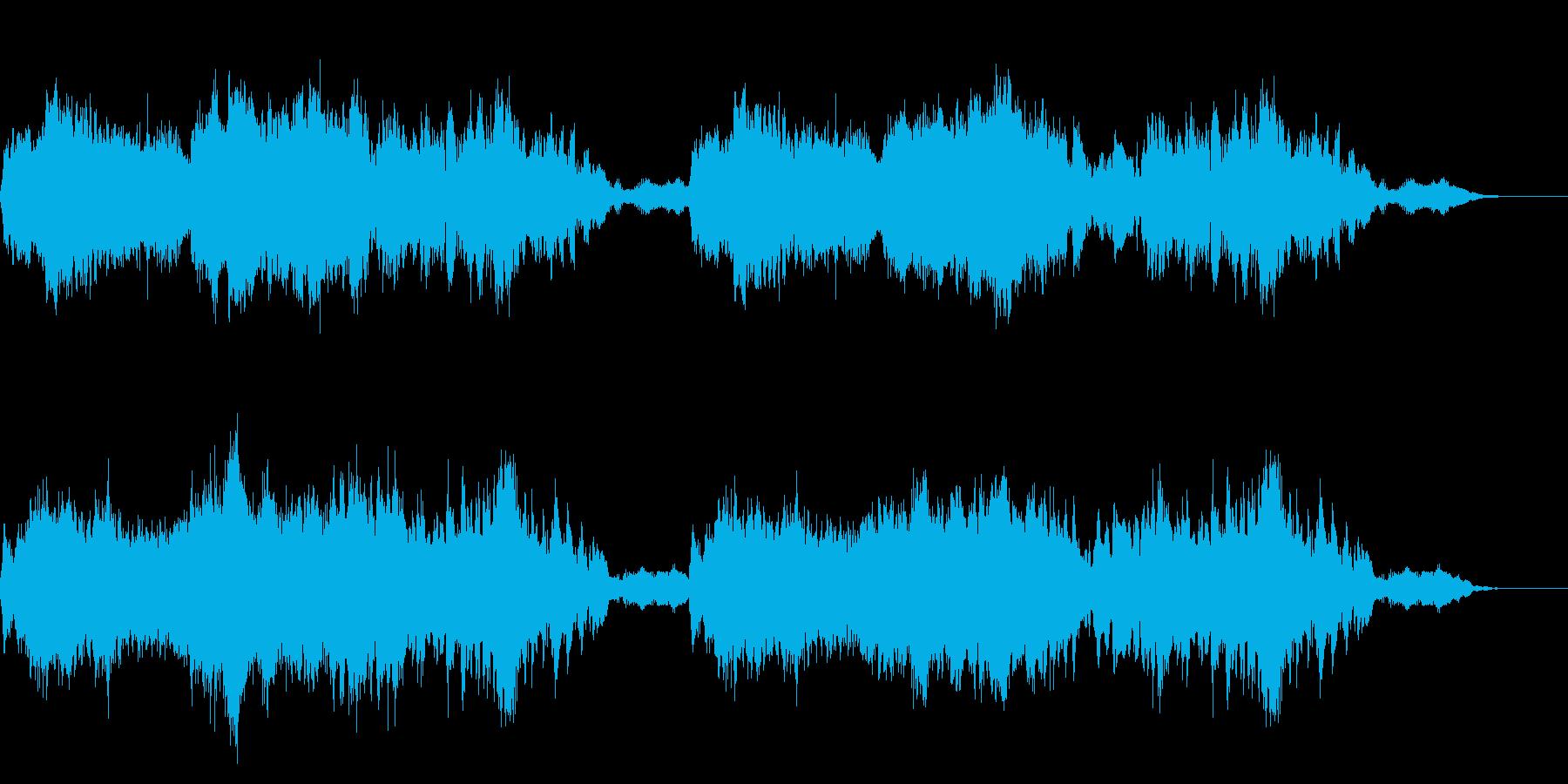 異世界税務署の音楽の再生済みの波形
