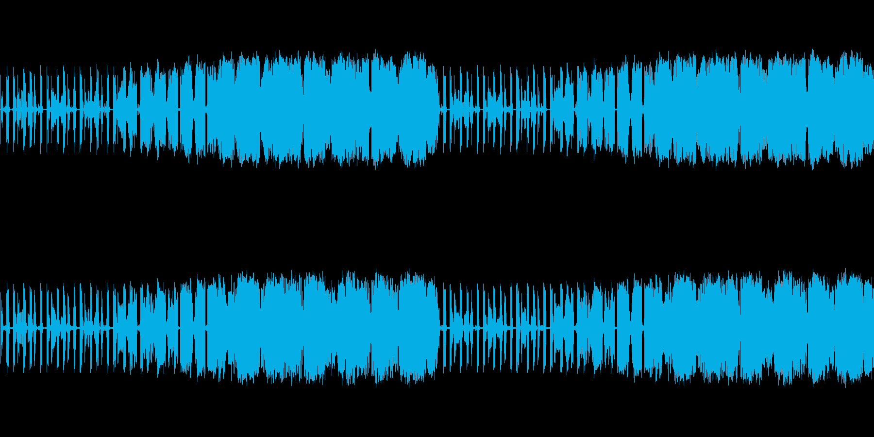 【ホラー/映画/BGM】の再生済みの波形