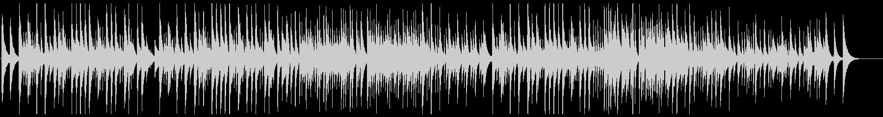 エルガー 「愛の挨拶」ウクレレカバーの未再生の波形