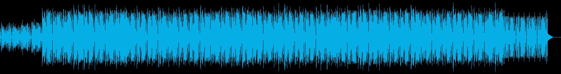 哀愁漂うエレクトロポップの再生済みの波形
