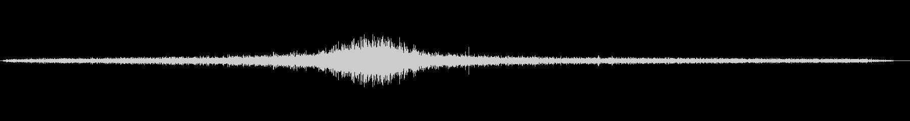 1986リンカーンタウンカー:ドラ...の未再生の波形