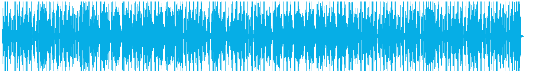 エレピとトランペットで陽気なレゲエ調♪の再生済みの波形