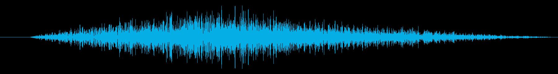 シュワー/スワイプや場面転換に最適です2の再生済みの波形