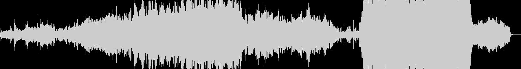 オケによる美しい魔法ファンタジー主題曲の未再生の波形