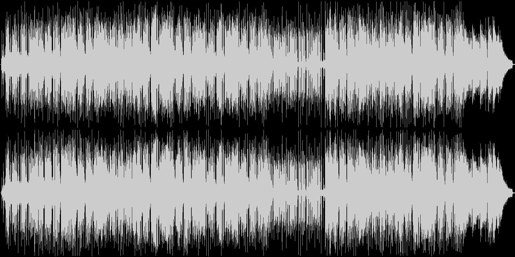 モダンサウンドと70年代のレトロスタイルの未再生の波形