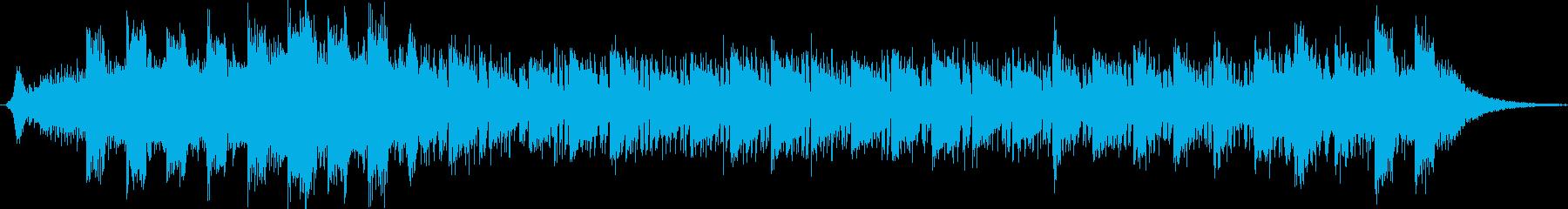 軽快なメロディーのポップスの再生済みの波形