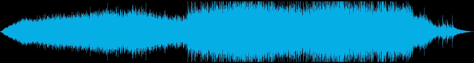 オーガニックな雰囲気のアンビエントの再生済みの波形
