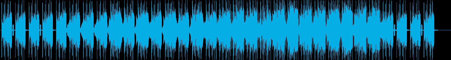 ギターが特徴的なしっとりしたBGMの再生済みの波形