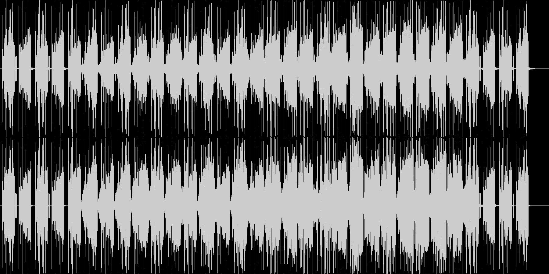 ギターが特徴的なしっとりしたBGMの未再生の波形