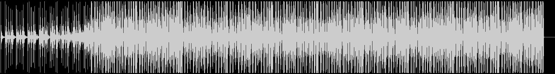 明るいアフロビート トロピカルハウスの未再生の波形