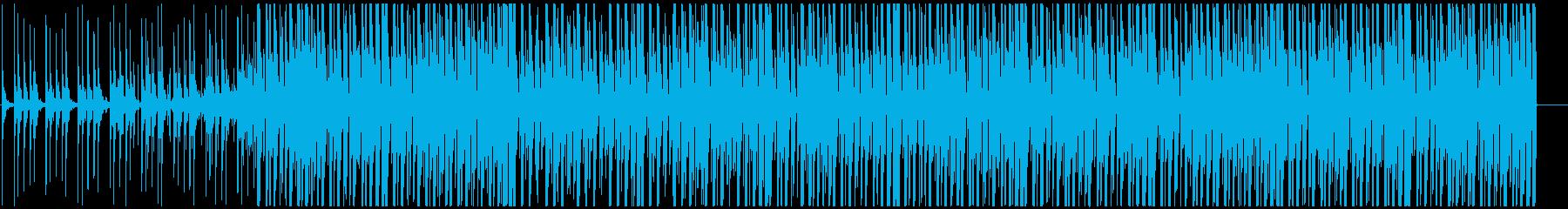明るいアフロビート トロピカルハウスの再生済みの波形