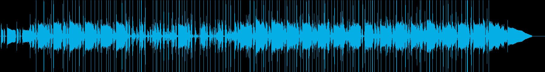 エレピと生ドラムが演出する夜の街並み_2の再生済みの波形