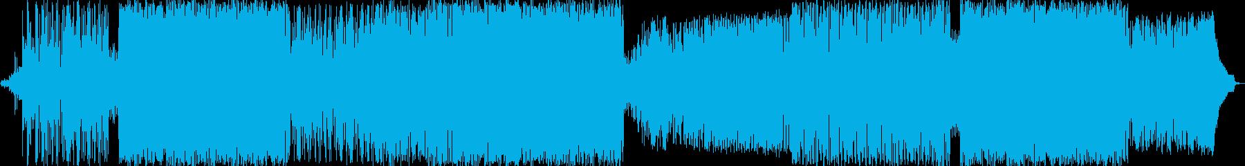 バスケットボールEDMの再生済みの波形