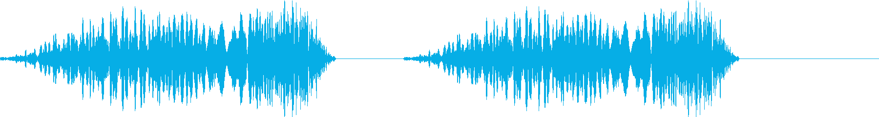 DJプレイ スクラッチ・ノイズ 174の再生済みの波形