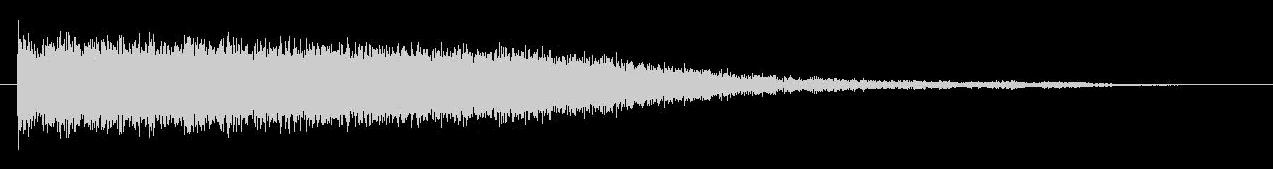素材 ビットスライスシンセ03の未再生の波形