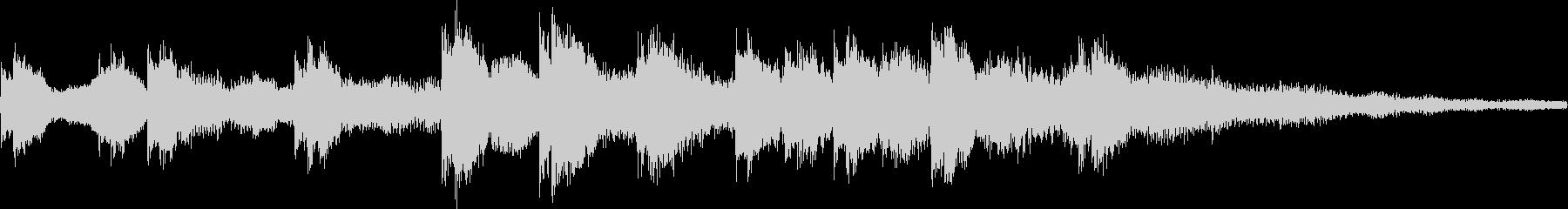 k012 アラーム音(ループ仕様)の未再生の波形