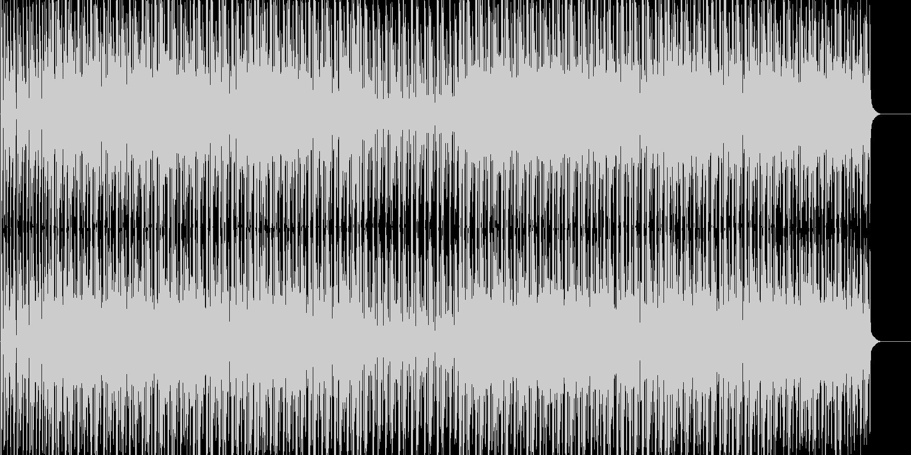 楽しい 跳ねる 前向き 出会い ドキドキの未再生の波形