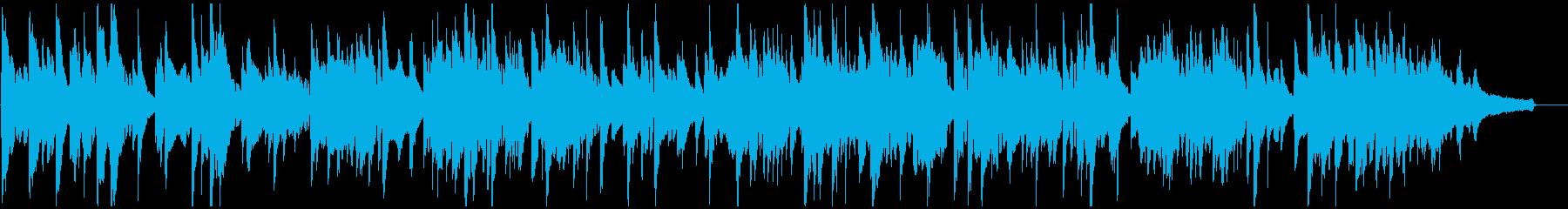 優しいバラード・ジャズ、優雅なサックスの再生済みの波形