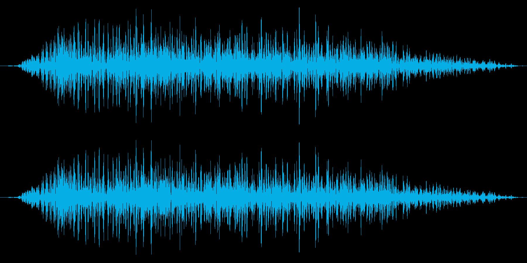ドラゴン モンスター キャラタップ 怒りの再生済みの波形