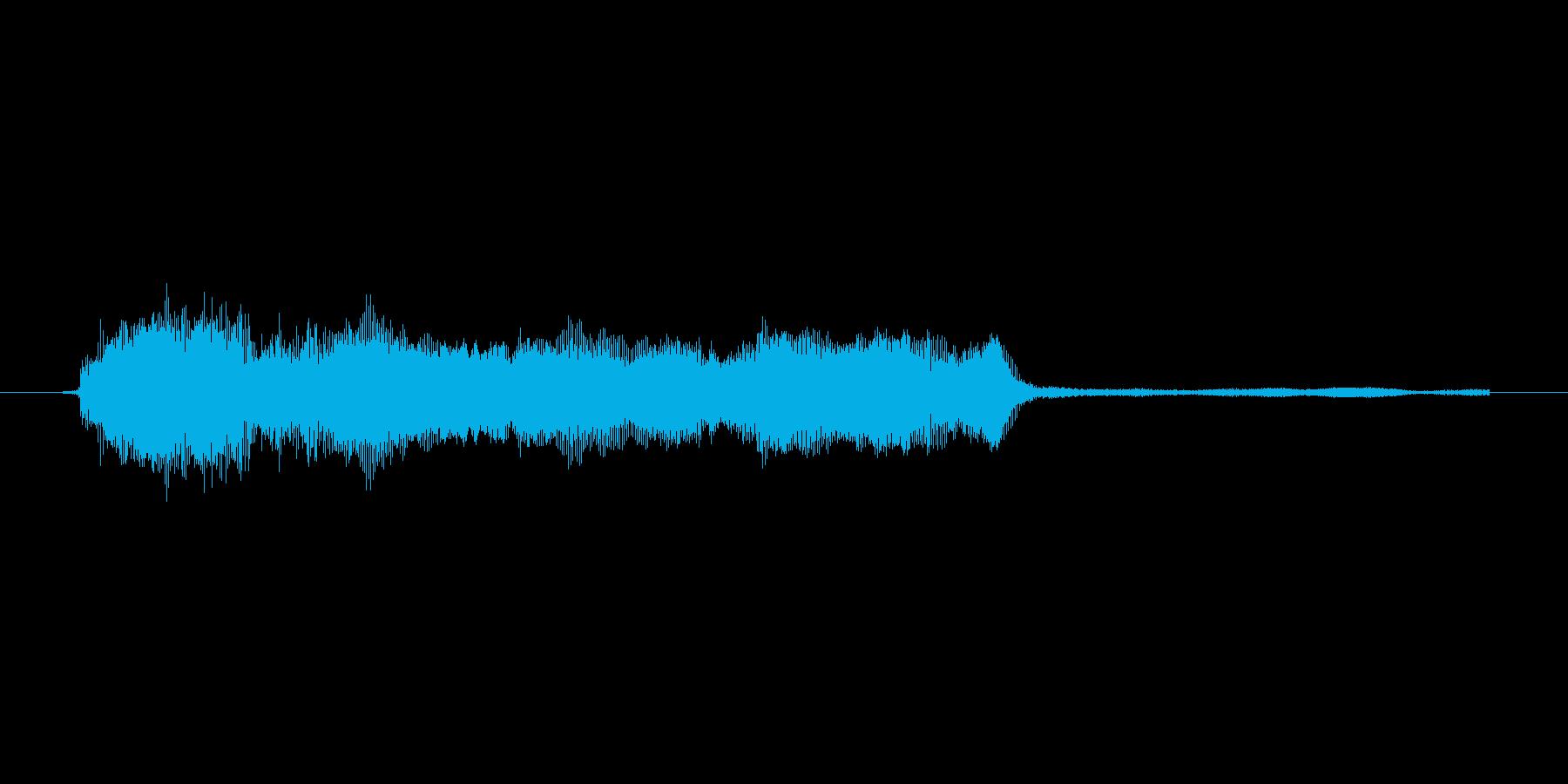 ゲーム、クイズ(ピンポン音)_008の再生済みの波形