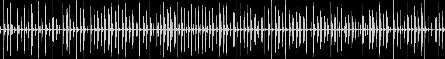 メニュー画面・汎用ループ単調シンセの未再生の波形