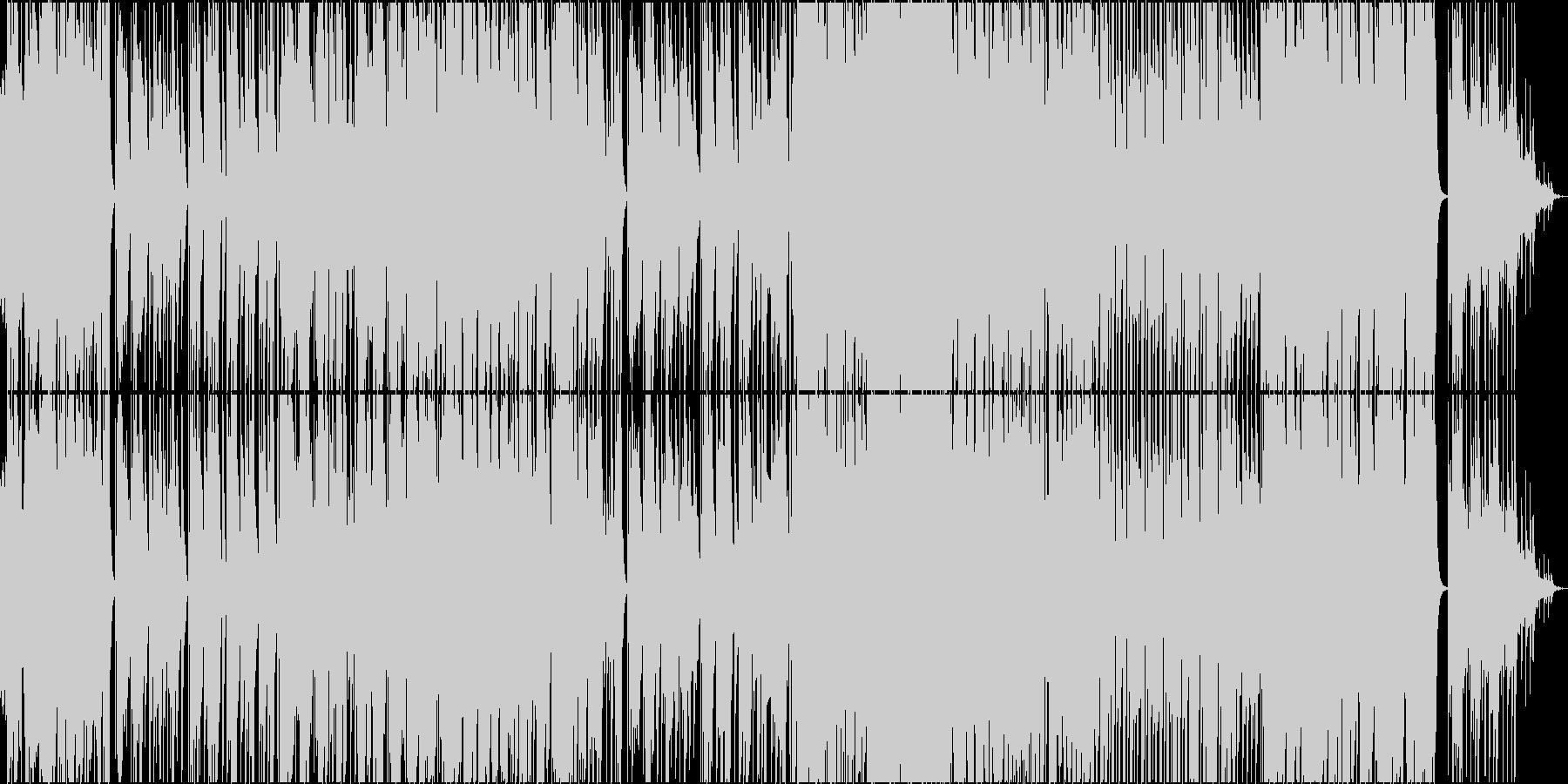 ポップス系パワーバラードの未再生の波形