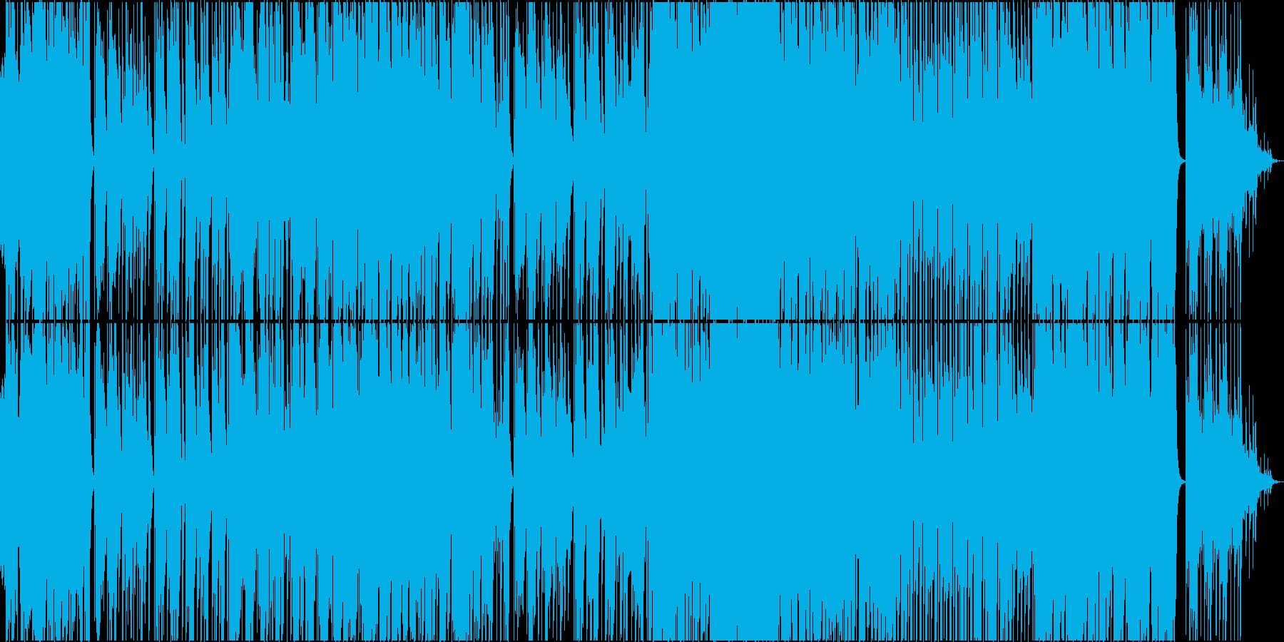ポップス系パワーバラードの再生済みの波形