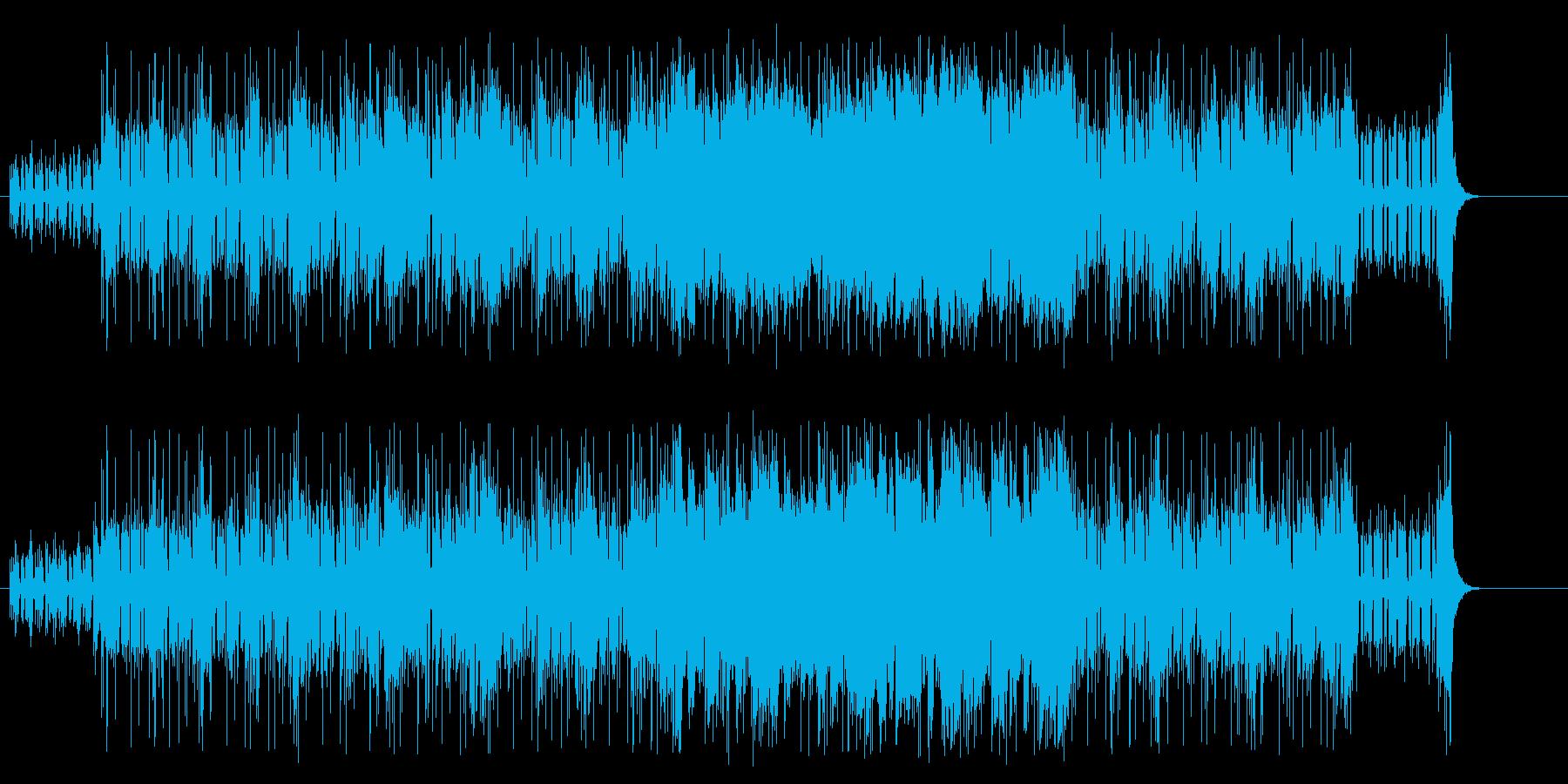 緊迫感漂うエレクトリック/フュージョンの再生済みの波形