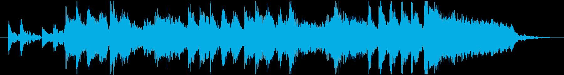 コーナータイトル_趣味番組の再生済みの波形