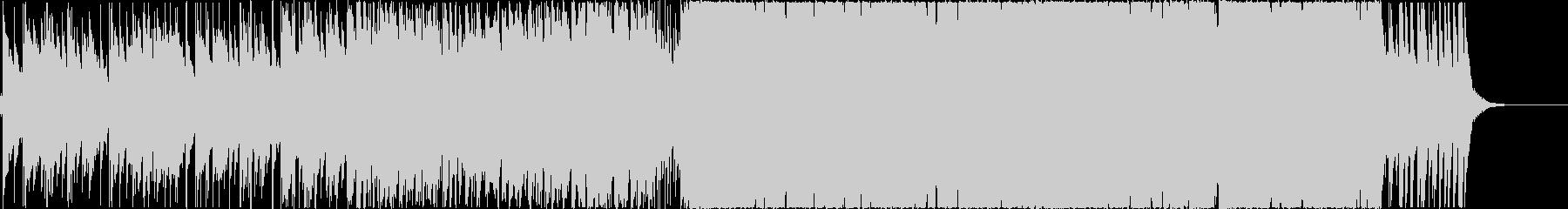 おしゃれなピアノバイオリンEDMの未再生の波形