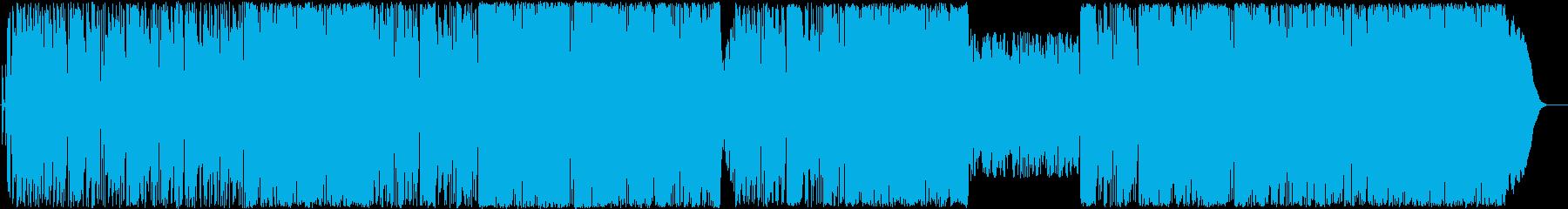 ロックアンドディストーションの再生済みの波形