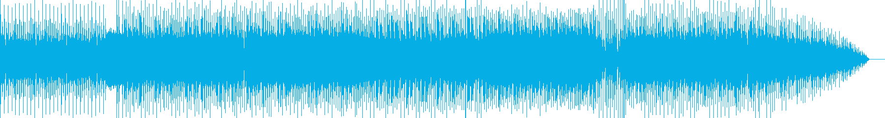 リサイクルショップに適した曲の再生済みの波形