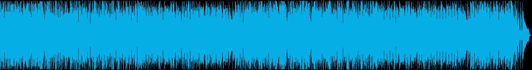 落ち着いたナイロンギターインストの再生済みの波形