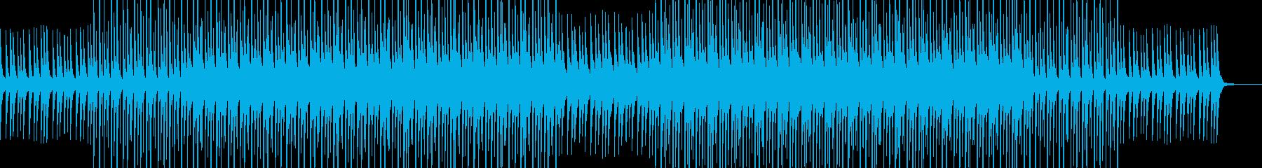 クールで勇ましい場面に最適な曲の再生済みの波形