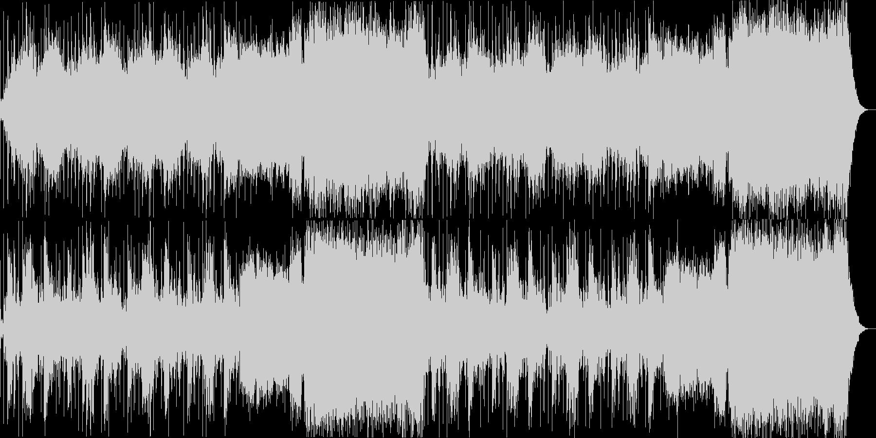 ダークで神聖なアンビエントシンセの未再生の波形