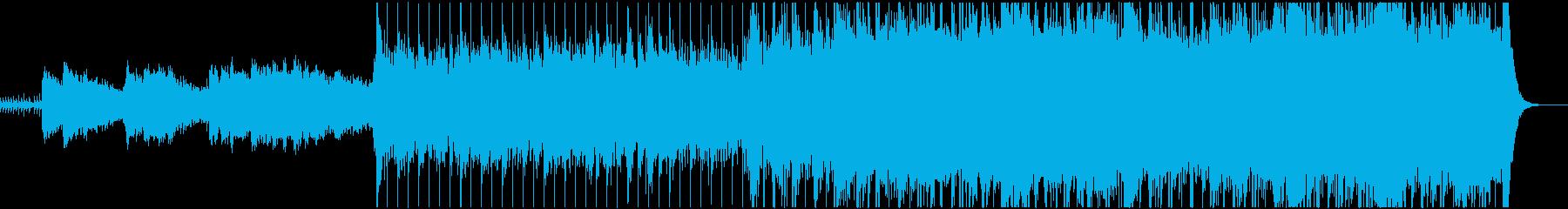 テーマ性・パワフル・シネマティック音楽の再生済みの波形