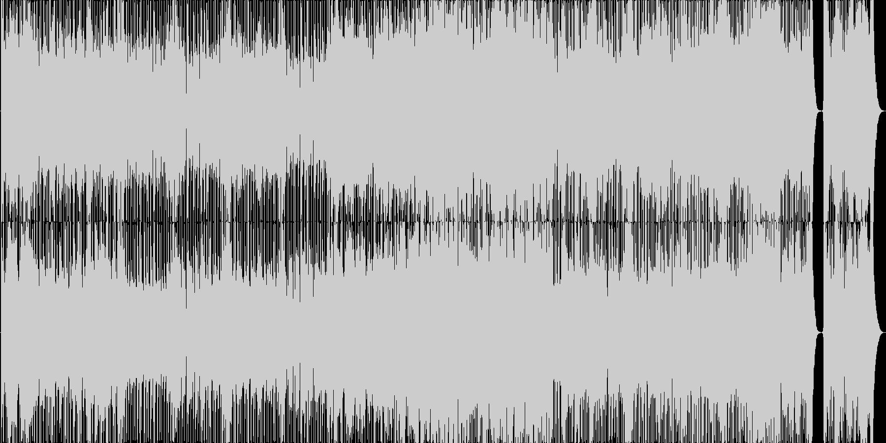 ダンスボールルーム。ベギン。の未再生の波形
