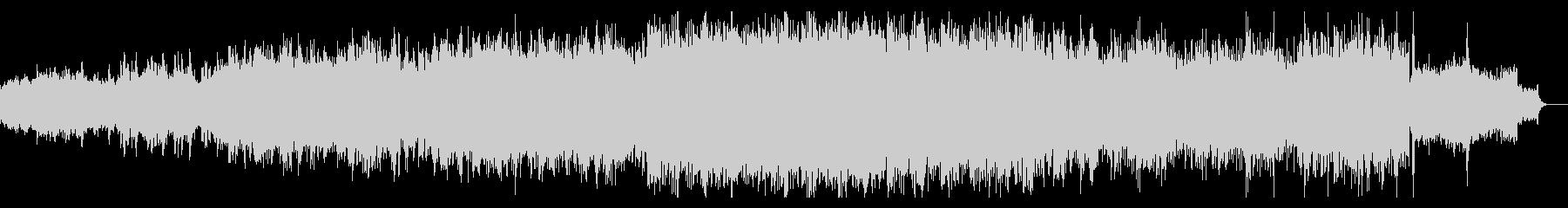ディープでグリッジなシンセアンビエントの未再生の波形