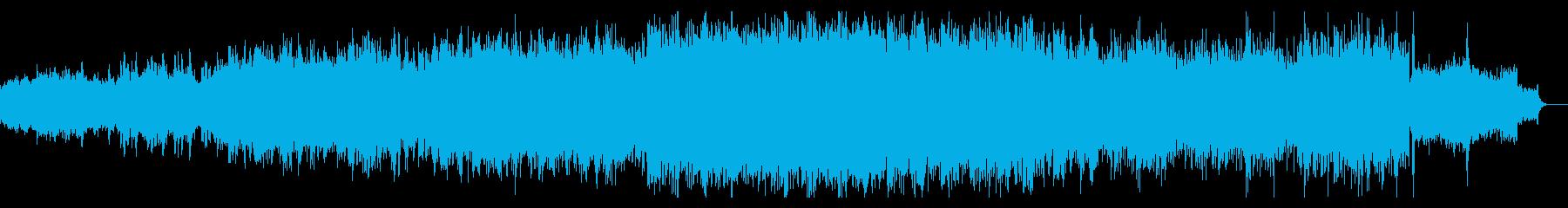 ディープでグリッジなシンセアンビエントの再生済みの波形