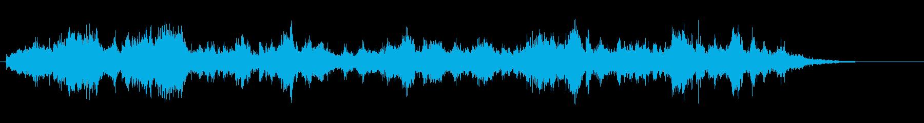 気持ち悪い、耳障り、 具合が悪くなる音4の再生済みの波形