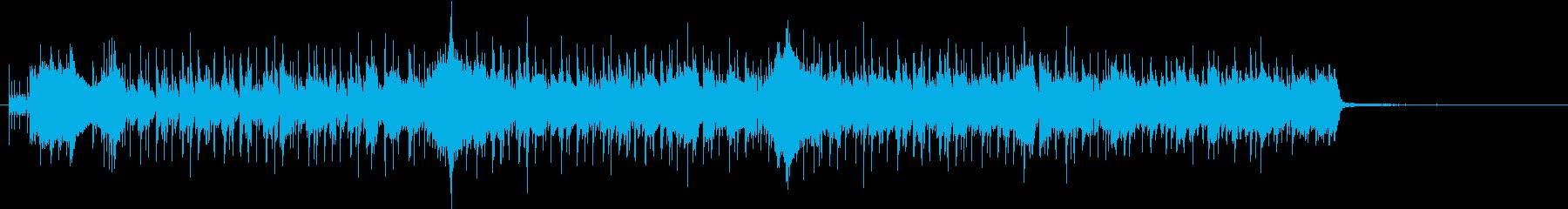 オシャレ情報コーナーのBGMの再生済みの波形