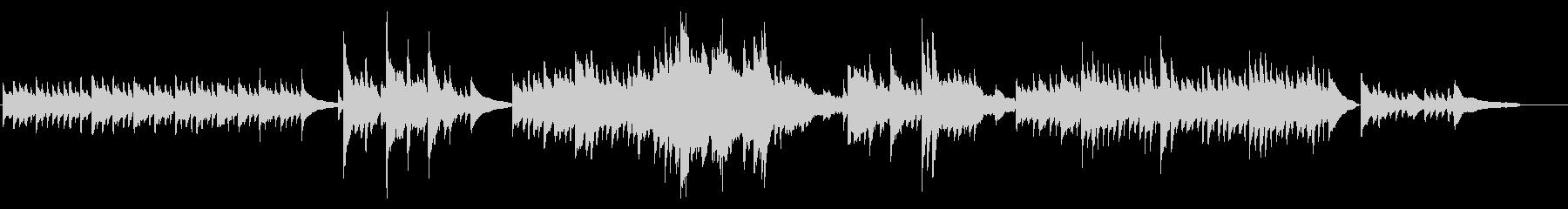 Impromptu, op.1-1の未再生の波形