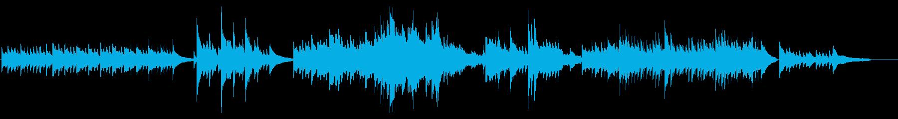 Impromptu, op.1-1の再生済みの波形